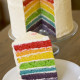 Rainbow Cake for a Special Birthday